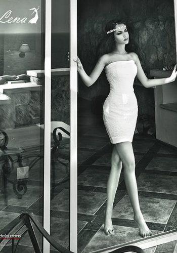 Катя Мирецкая реклама свадебных платьев Se-Lena