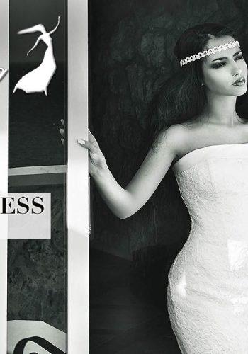 Катя Мирецкая в рекламе свадебных платьев 2